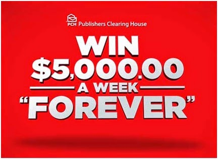 PCH Sweepstakes $5000 a Week for Life