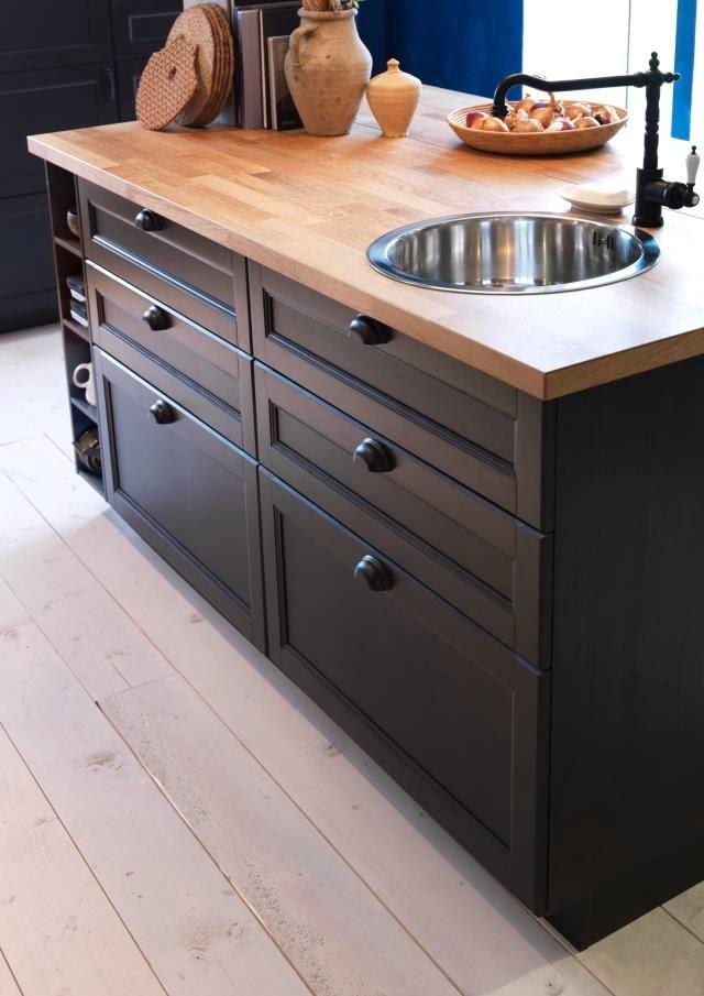Encimeras y paneles frontales: Todo sobre las nuevas cocinas METOD ...
