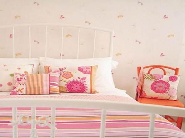 wallpaper kamar tidur anak perempuan