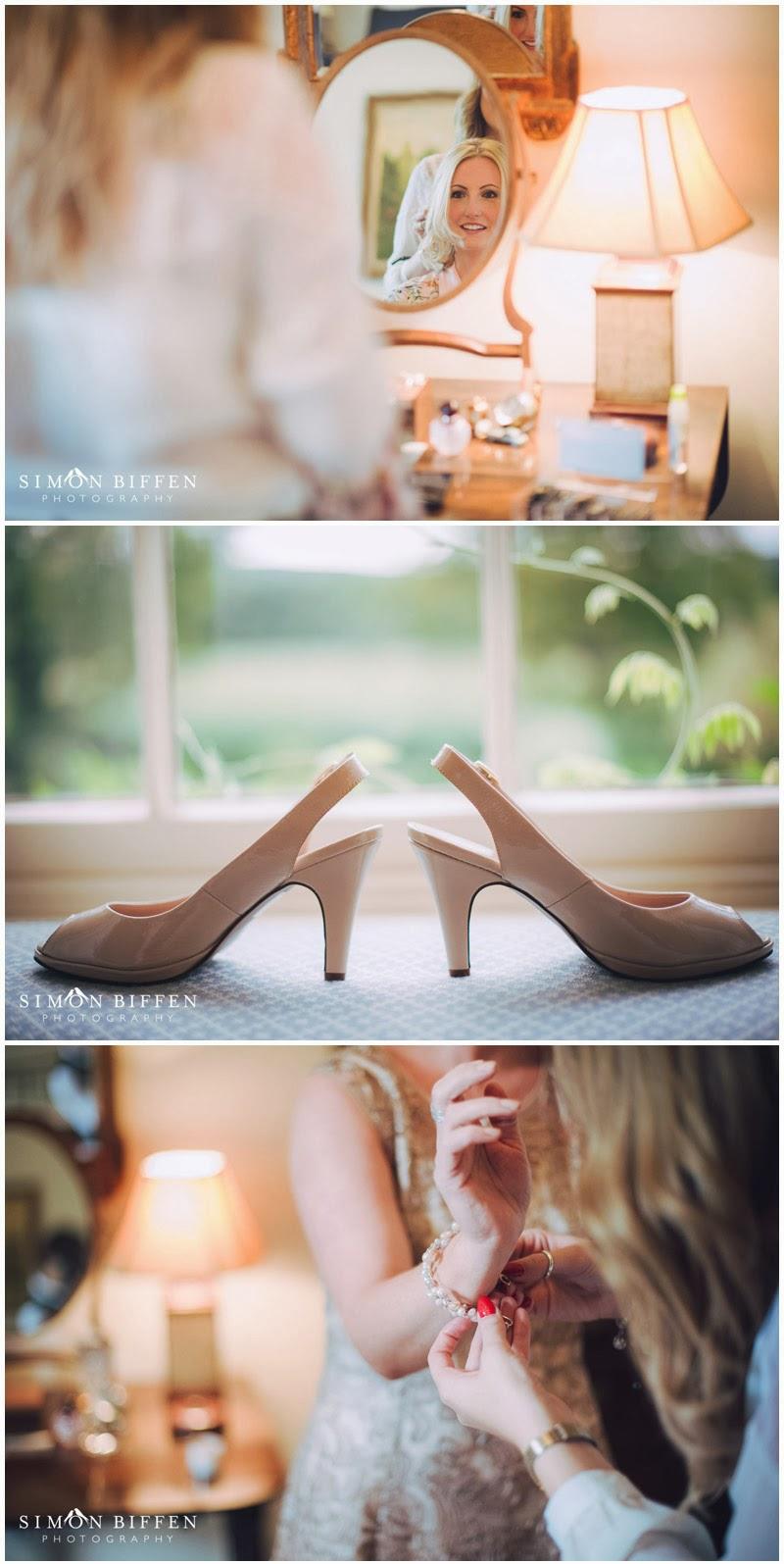 Bride preparation and details