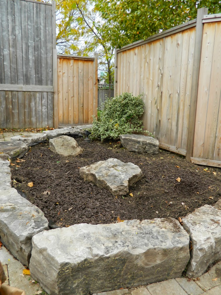 Toronto garden cleanup after Broadview North by Paul Jung Gardening Services