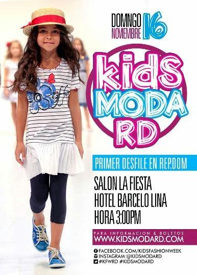 kids moda rd contar con la de ocho reconocidos diseadores dominicanos y mexicanos a los cuales se le