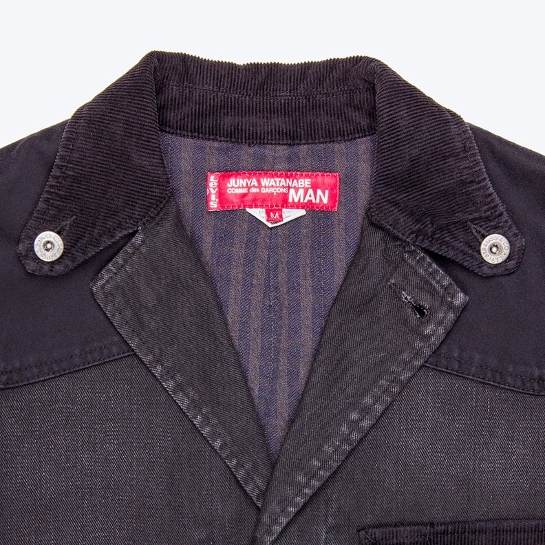 http://www.number3store.com/levis-deconstructed-cotton-coat/1858/