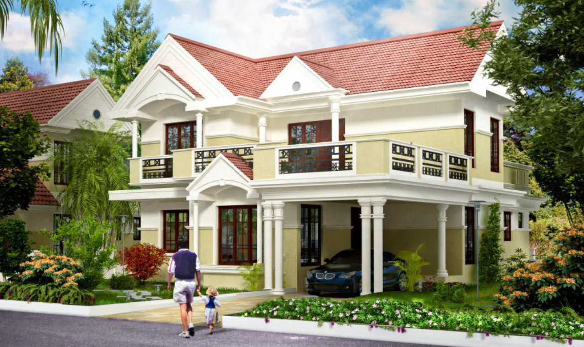 Villas in ernakulam angamaly villa for sale in ernakulam for Land for sale in kerala