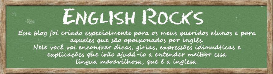 English Rocks