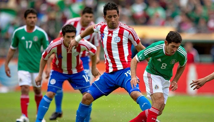 Mexico vs Paraguay en vivo