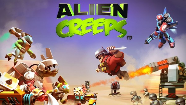 Alien Creeps TD v1.7.2 Apk Mod [Dinero]