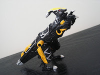 Bandai Minipla Candy Toy Super Sentai Kyoryuger Parasagun Kyoryu Black