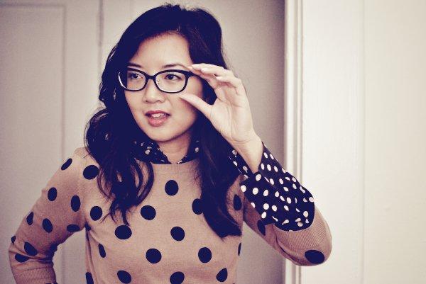 dior cat-eye glasses
