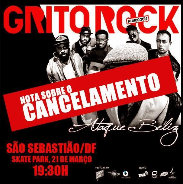 Autoritarismo e politicagem cancela evento Grito Rock em São Sebastião