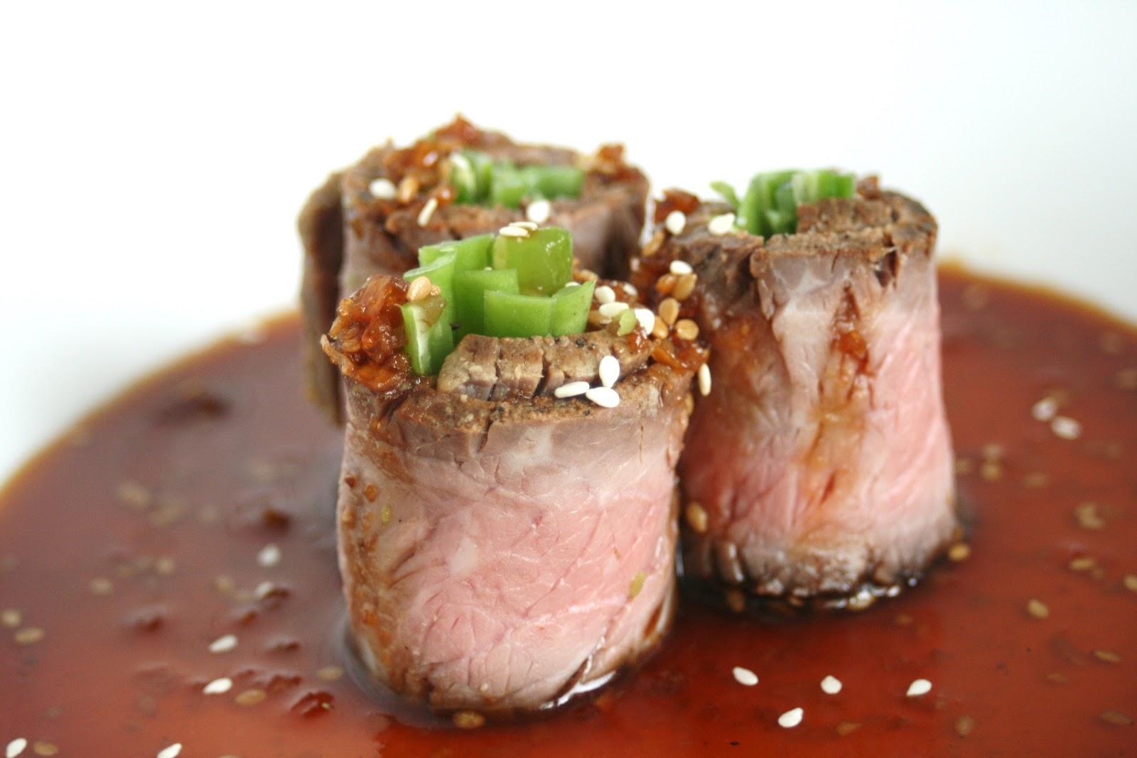 negimaki beef negimaki with broccolini and rice negimaki japanese beef ...