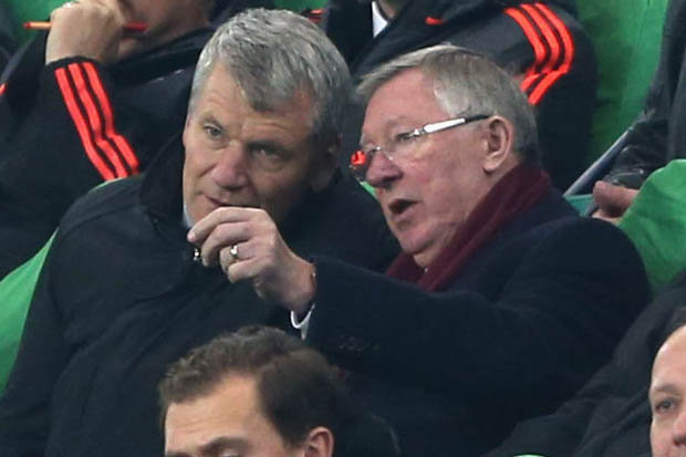 BACK INVOLVED? Fergie could help Ryan Giggs at United