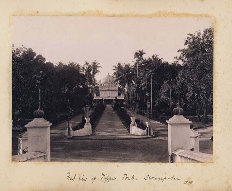 Front view of Tipu Sultan's Tomb Seringapatam, Karnataka,  1895
