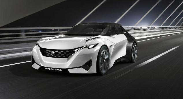 2016 Peugeot Fractal Concept Exterior Interior Engine