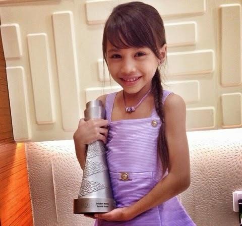 Anugerah Skrin 2014, info, terkini, hiburan, sensasi, Puteri Balqis, gosip, kontroversi, pelakon cilik