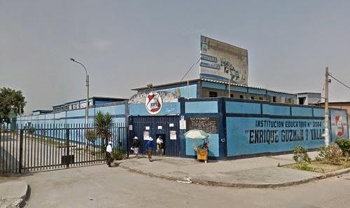Colegio 3084 ENRIQUE GUZMAN Y VALLE - Los Olivos