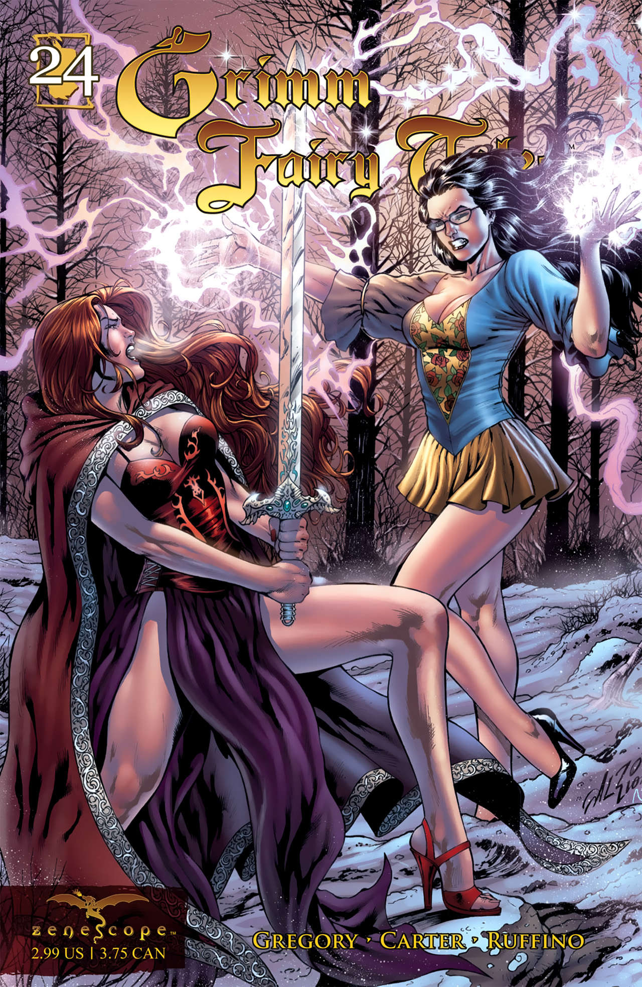 Grimm Fairy Tales (2005) Issue #24 #27 - English 1