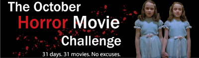 October Horror Movie Challenge Banner