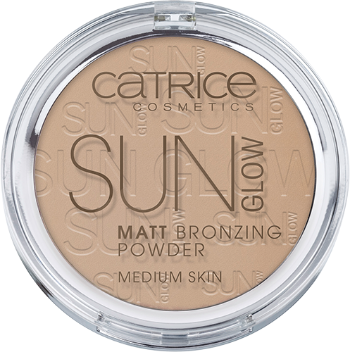 Catrice Sun Glow Matt Bronzing Powder - Medium Skin