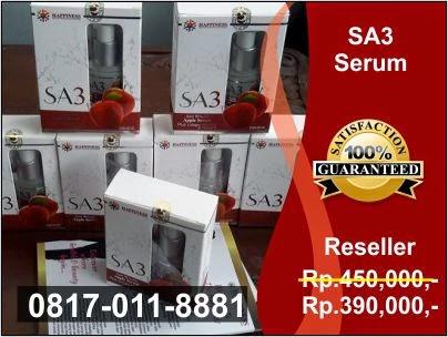 Agen Resmi, Jual Serum Apel SA3 PT Happinessindo di Jakarta, Bogor, Depok, Tangerang, Bekasi, Bandung, Medan, Surabaya, Batam, Palembang