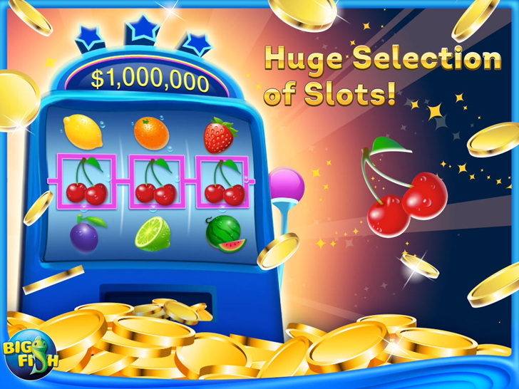 Big fish casino free slots vegas slots and slot for Fish casino slot