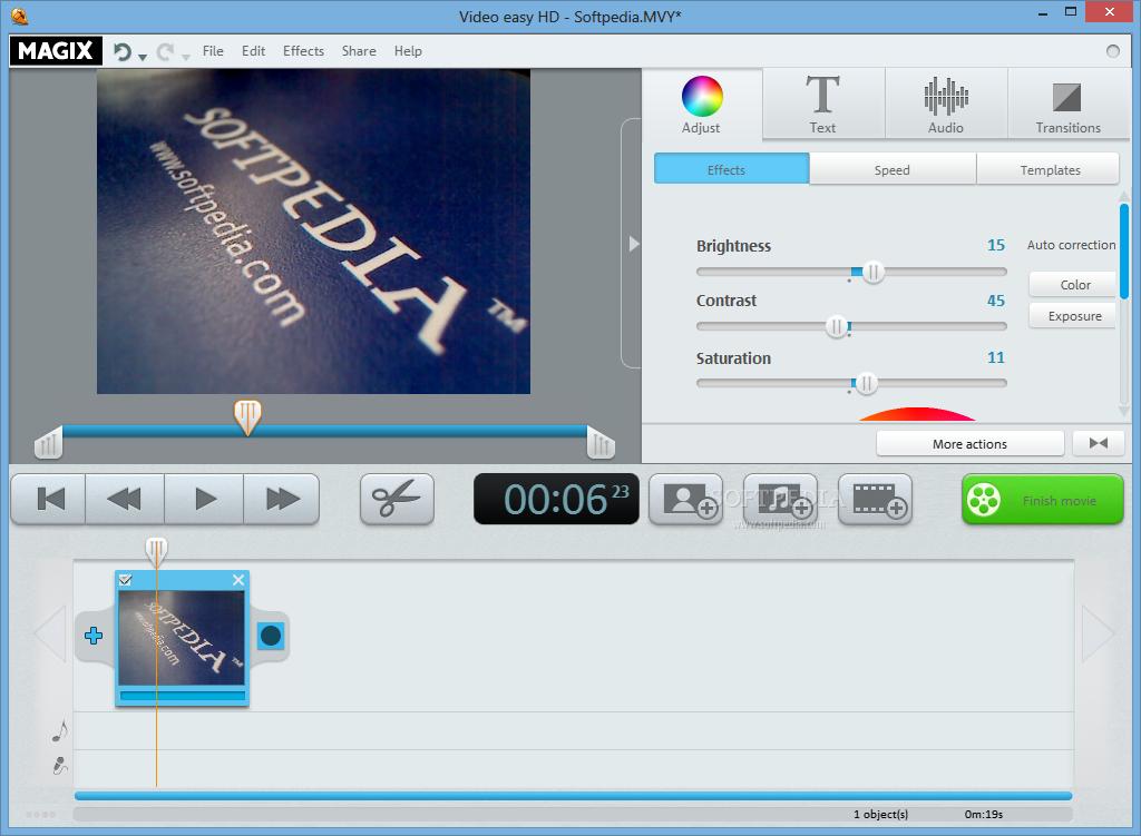 برناج تحرير الفيديو السهل MAGIX Video Easy 3.0