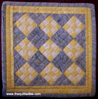 Little Quilts Around My House by The Quilt Ladies