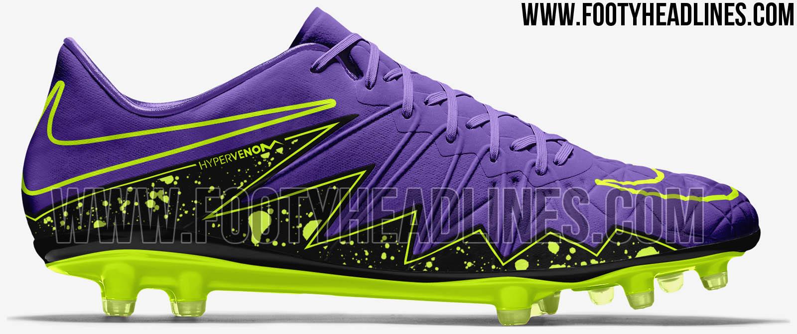 Nike Hypervenom Lila