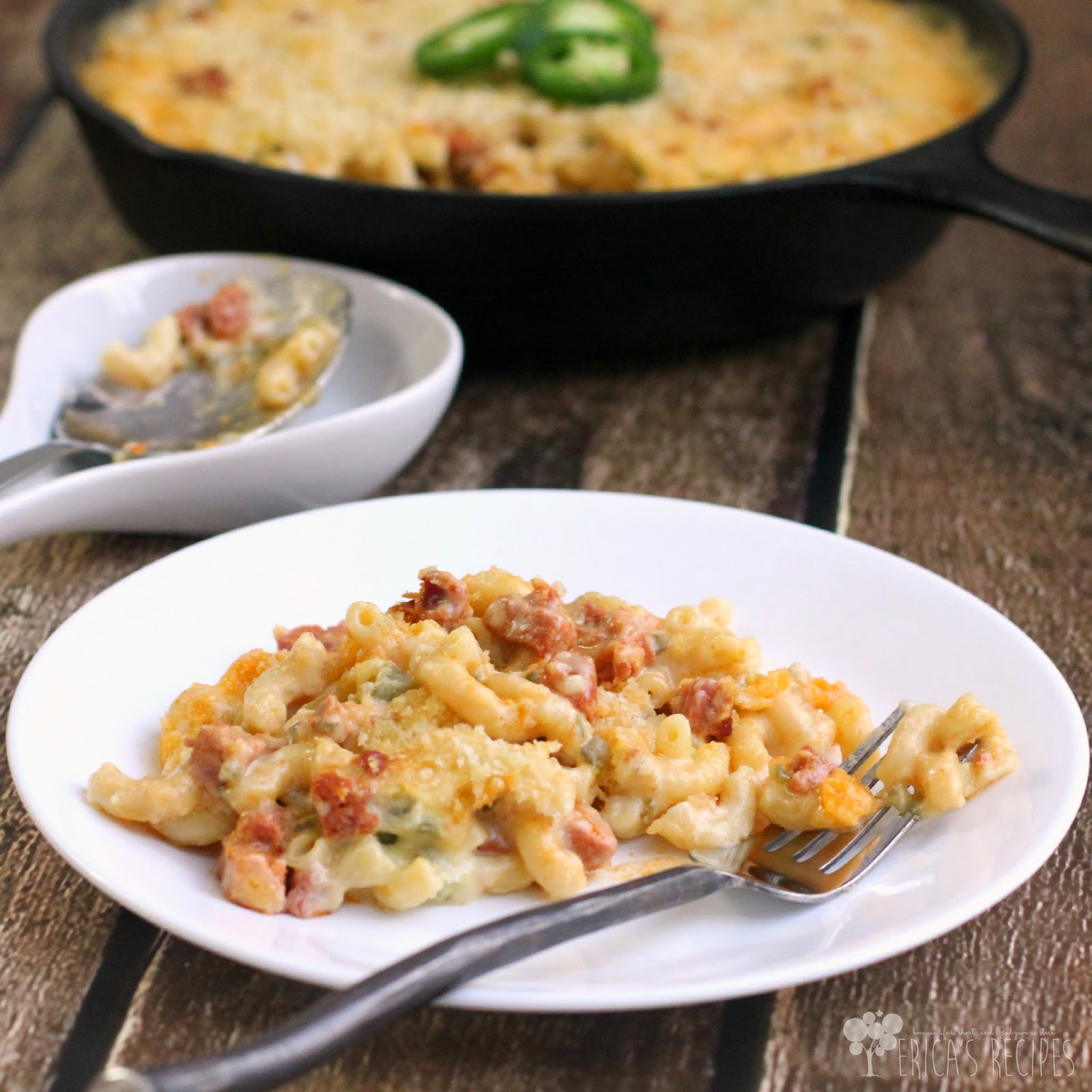 Jalapeno and Chorizo Macaroni & Cheese