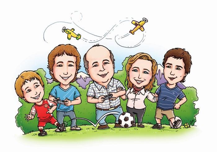 Imagenes de familia de caricaturas - Imagui