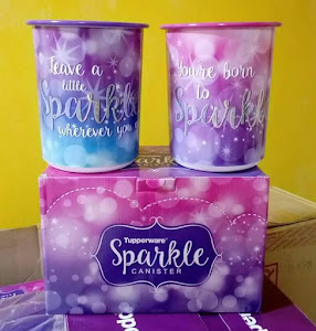 Tuppeware One Touch Sparkle, RM98.00 per set