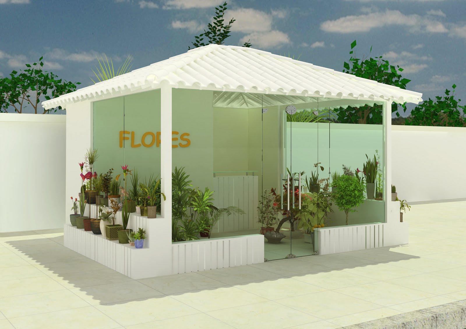 CASA VIRTUAL : projeto: floricultura em condomínio #2F4118 1600 1131