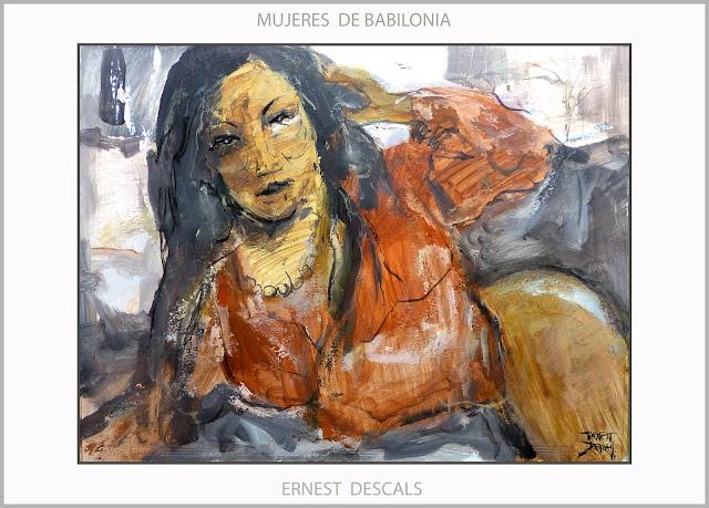 MUJERES-BABILONIA-PLACERES-ARTE-PINTURA-HAREN-ALEJANDRO MAGNO-ARTISTA-PINTOR-ERNEST DESCALS-