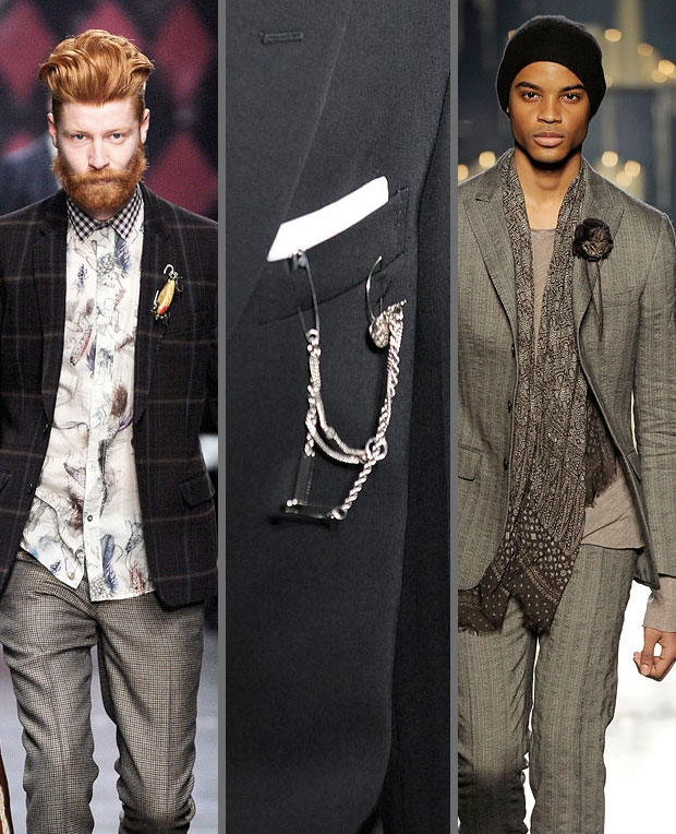 The X-Stylez: The Male Brooch Epidemic