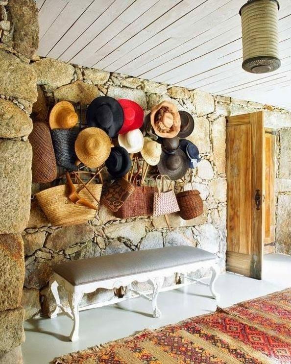 entrada rústica casa de campo