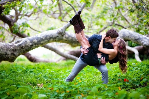 forest kiss