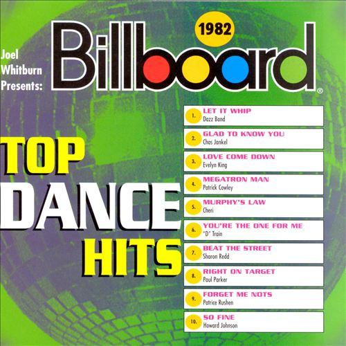 The hideaway rhino 39 s billboard top dance hits 1976 1985 for Top 100 house songs of all time