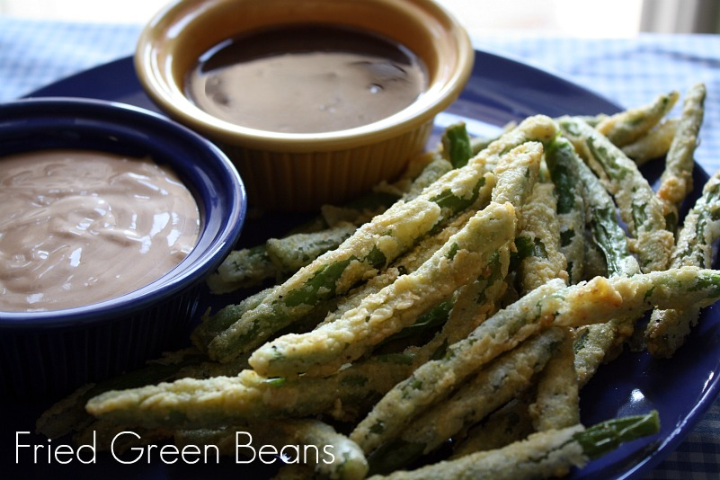 ... From my Texas Kitchen: Crispy Fried Green Beans W/Zesty Dipping Sauce