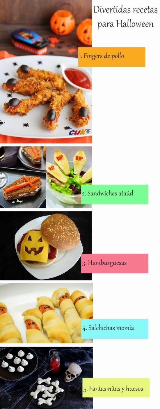Selección de 5 recetas terroríficas para Halloween