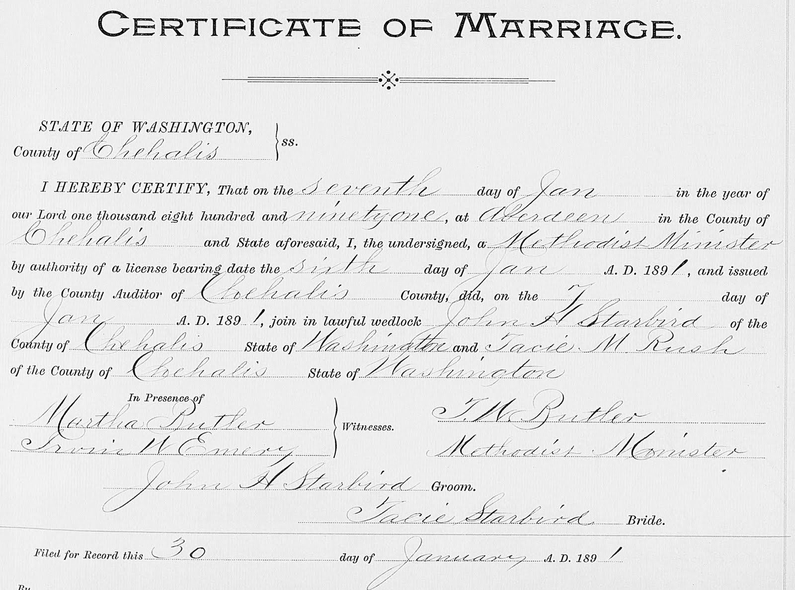 Northwest history using the washington digital archives to dig there is no record in the washington archives of starbirds second marriage perhaps it occurred when he was a miner on the klondike xflitez Choice Image