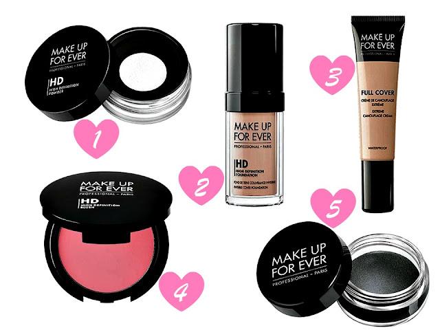 Make Up Forever Debenhams Wish List