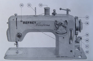 refrey transforma 427 maquina de coser devanado hilo canilla