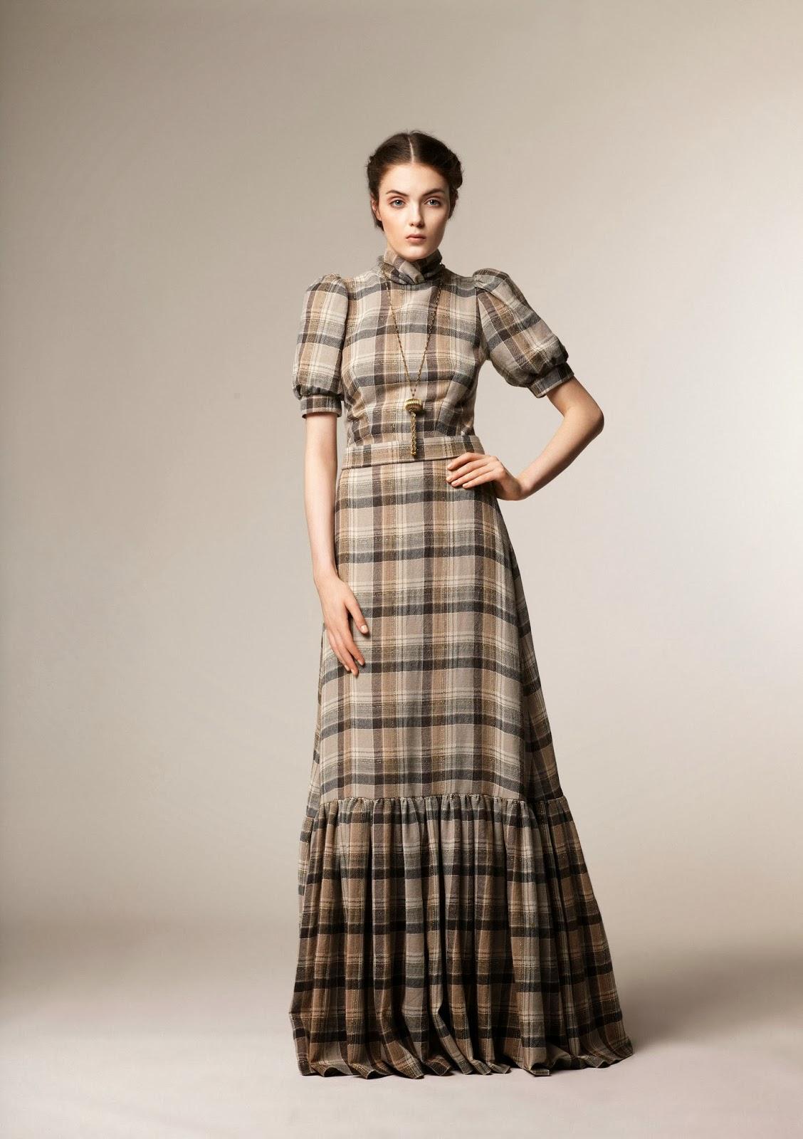Beautiful modest A La Russe fashion winter 2013 collection   Mode-sty