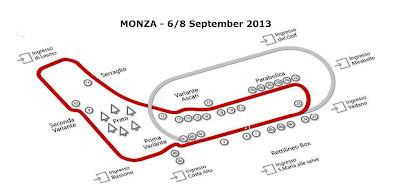 FÓRMULA 1-Clasificación GP Italia 2013 (Monza)