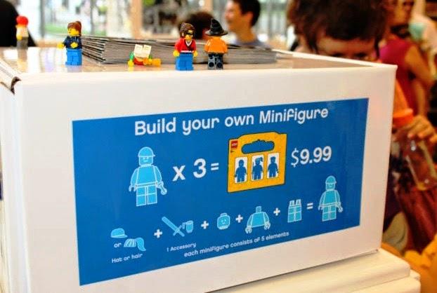Loja Lego Store em Nova York