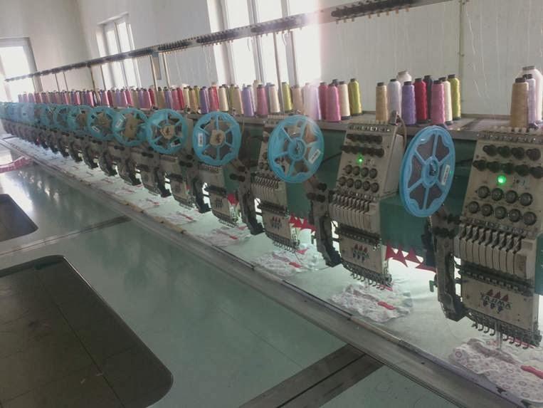 nakış makinaları - nakış işleme merkezi 1