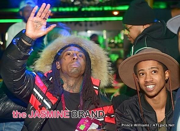 fotos de Lil Wayne, T.I., Lil Twist, Mack Maine, Hood y Cortez Bryant en Label Charlotte
