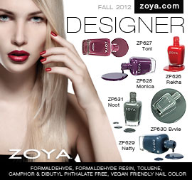 Zoya Nail Polish: NYFW2012 Designer