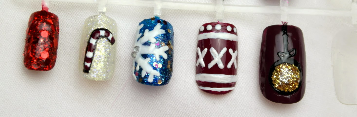 Georgia Vanilla: Christmas nail art ideas!