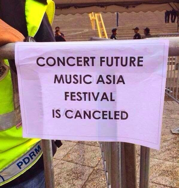 Konsert Future Music Festival Asia (FMFA)